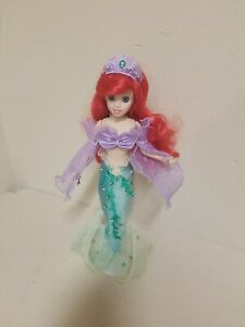 Disney Brass Key Little Mermaid Porcelain Doll 25th Anniversary