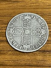 More details for queen anne silver half crown 1707