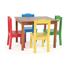 Tot Tutors Friends Highlight Collection Wood Table & 4 Chair Set (Open Box)