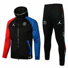 Adults PSG Football Sportswear Kids Soccer Tracksuit Top&Bottoms Training Suit