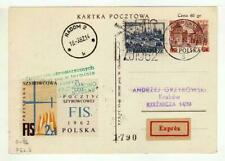 A1149) POLAND GLIDERS 1962 Expr PC Zacopane Krakrow
