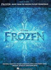 FROZEN  Disney's  Easy Piano  MUSIC SONG BOOK  New