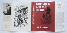 Grishka and the Bear Rene Guillot DUST JACKET ONLY Children's