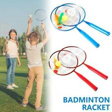 1Pair of Badminton Rackets With Shuttlecocks Home Sports Game for Youth Kids Usa