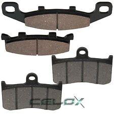 Front Rear Brake Pads For Kawasaki EX250 Ninja 250R 1987 1988 1989 1990-2007