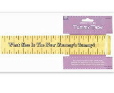 Mommy To Be Tummy Tape Baby Shower Party Game - 382381