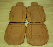 Fits for Nissan 350Z Leather Seat Covers 2003-2009 in Burnt Orange and more