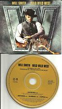 WILL SMITH & DRU HILL Wild West ACAPPELLA & INSTRUMENTAL Europe PROMO CD Single