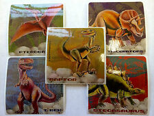 15 Dinosaur Stickers Party Favors Teacher Supply Dino T-Rex Stegosaurus