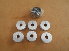 1X NEW BOBBIN CASE 6X ALUMINIUM BOBBINS TO SUIT INDUSTRIAL STRAIGHT SEWERS