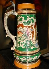 Antique German beer stein HELP doggie rescue sanctuary