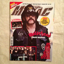 METAL MANIAC 11/2013 MOTORHEAD ALTER BRIDGE AYREON SOULFLY LITA FORD KATATONIA