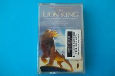 """THE LION KING"" MUSICASSETTA OST  SEALED"