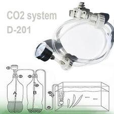 DIY CO2 system Kit D201 tube valve guage bottle cap for aquarium moss plant US