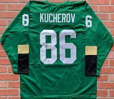 Nikita Kucherov autographed signed jersey NHL Tampa Bay Lightning PSA w/ COA