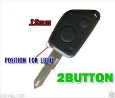 fits Peugeot 106 206 306 309 remote key fob case and blade 2 buttons + infa red