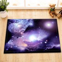 """Space Nebula Door Mats 15X23"""" Kitchen Bathroom Shower Floor Non-Slip Mat Rug"""