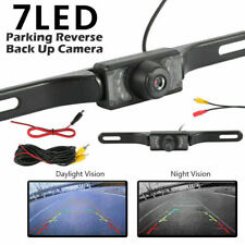 Backup Camera Car Rear View Reverse Night Vision Parking License Plate System