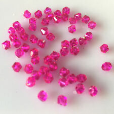 Free shipping 100-1000pcs Swarovski Crystal 4mm 5301#Bicone Beads YOU Pick color