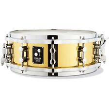 """Sonor pl 12 1405 sdbd prolite Brass Caisse claire Drum 14"""" x 5"""" avec les-Cast-Hoops"""