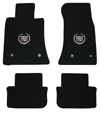 Lloyd Mats LUXE Custom Made 4PC MAT SET Cadillac ATS *Silver Crest on Front Mats