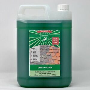 Lancelot 5L Patio Cleaner Mould Algae Moss Killer Fluid Decking 250m squareclean
