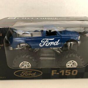 Ford F-150 Truck 1/32 Scale City Cruiser Die Cast Body Blue In Box 1999