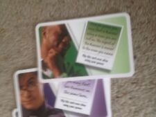 Cluedo Game, Set Of Persons Cards. Genuine Hasbro Games Parts.