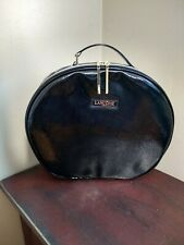 Lancome Large Makeup Bag Cosmetic Case Round Travel Tote Toiletry.