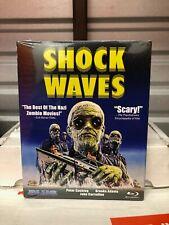 Shock Waves (Blu-ray Disc, 2014) NEW OOP blue underground w/ RARE SLIPCOVER htf