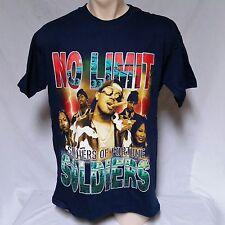 VTG 90's Master P T Shirt No Limit Rap Hip Hop Records C Murder 90s Large