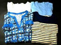 Kim Rogers Shirt Bundle Women's 3 Large 1 XL 100% Cotton Shirts Lot of 4