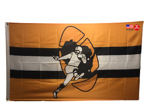 Packers FLAG 3X5 Green Bay Banner American Football New Old School Throw Back