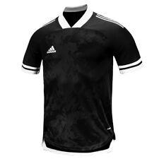 Adidas Condivo 20 Training Top Men's Short Shirts Football Jersey Black Ft7256