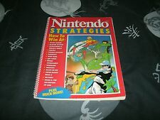 Nintendo Strategies Guide Book For NES Games