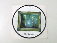 "THE BEATLES - STRAWBERRY FIELDS FOREVER - 7"" PICTURE DISC 1987 20th ANNIV- EX Q6"