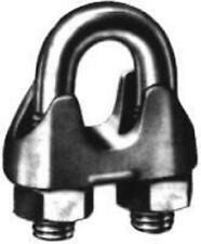 "10 Stück Drahtseilklemmen DIN 741 5/16"" = 8 mm"