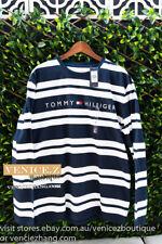 BNWT RRP$79.95 TOMMY HILFIGER Mens Cotton Long Sleeve Tee T-shirt Size S XXL