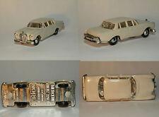 NOREV MICRO - MINIATURES MERCEDES  220 SE ECH 1/86 1960 Blanc