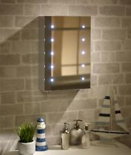 Lumino Mirrors-Tremolo Battery LED Illuminated Bathroom Cabinet SALE RRP £99.99