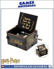 Harry Potter melodia Caja de musica en madera tallada melodia