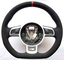 2000-2018 Audi S Line ALCANTARA A4 A5 A3 TT R8 A6 A8 Q5 Q7 S4 S5 steering wheel