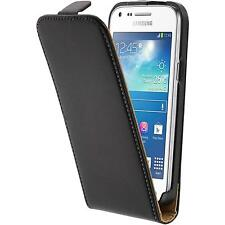 Artificial Leather Case for Samsung Galaxy Core Plus Flip-Case black