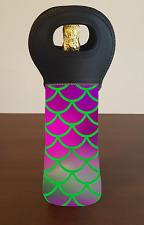 Mermaid Scales Wine Bottle Cooler Bag