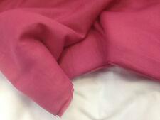 coupon de tissu soie et coton voile rose fuchia 3.00 m ; f mag2