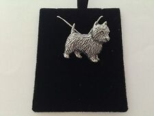D1   Westie  on a 925 sterling silver Necklace Handmade 30 inch chain