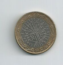 pièce monnaie  1  euro 1 € France 1999 SUP