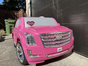 Barbie Power Wheels 12 VOLT Cadillac Escalade