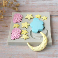 DIY Silicone Fondant Cake Mold Mould Chocolate Baking Sugarcraft Decor Tools Top