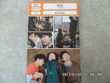 CARTE FICHE CINEMA 2012 PIETA Cho Min-soo Lee Jung jin Woo Ki-hong